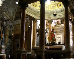 Rome, Italy, Santa Maria in Aracoeli shrine