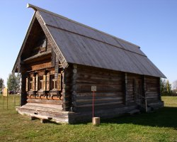 Russia Holiday, Suzdal, Museum of Wooden Architecture, Local peasant house