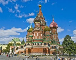 Russia Holiday, Moscow, Saint Basils Cathedral