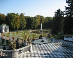 Saint Petersburg, Russia, White Palace garden