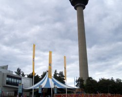 Sarkanniemi Park, Tampere, Finland, Tower view