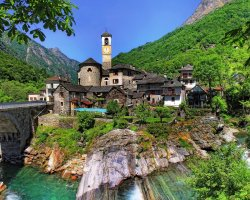 Secret Destination Holiday, Ticino, Switzerland, Panorama