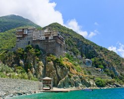 Select Holiday, Mount Athos, Greece, Europe, Dionisiou Monastery