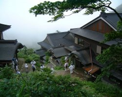 Select Holiday, Mount Koya, Japan, Asia, Monasterie upview