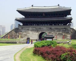 Seoul, South Korea, Asia, Namdaemun overview