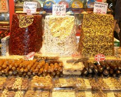 September Destination, Istanbul, Turkey, Shopping areas sweets