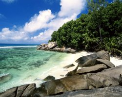 Seychelles Islands, Africa, Pirate Cove, Moyenne Island