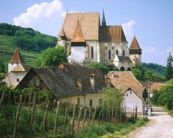 Sighisoara, Romania, Saxon Fortified Church of Biertan