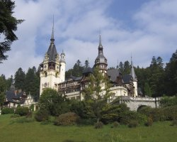 Sinaia, Romania, Peles Castle overview