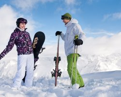 Ski Protection Holiday, Ski clothes