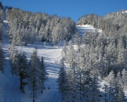 Ski Resort Holiday, Italy, Claviere slope ready