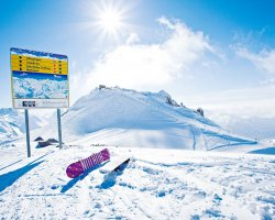 Ski Holiday, Sankt Anton am Arlberg, Austria, Top of the slope