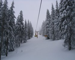 Ski Resorts, Pamporovo, Bulgaria, One of many chairlifts