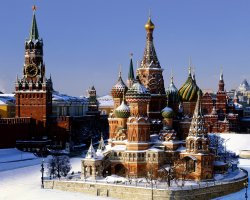Saint Basil Cathedral, Moscow, Russia, Cathedral and Kremlin