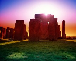 Stonehenge, United Kingdom, Sunset