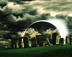Stonehenge, United Kingdom, HDR modified