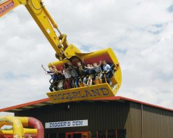 Strangest Theme Park, England, Europe, Diggerland great fun