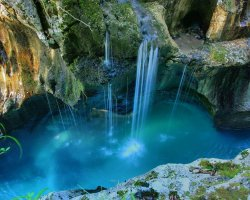 Stunning Places Holiday, Slovenia, Triglav National Park, The glittering waterfall