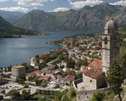 Stunning Places Holiday, Montenegro, Kotor Bay, Cityscape overview