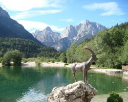Stunning Places Holiday, Slovenia, Triglav National Park, Local symbol statue