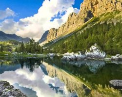 Stunning Places Holiday, Slovenia, Triglav National Park, Landscape overview
