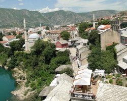 Stunning Places Holiday, Bosnia and Herzegovina, Mostar, Cityscape overview