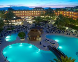 Sublime Perfect Holiday, Tenerife, Spain, Hotel pool at night