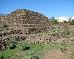 Sublime Perfect Holiday, Tenerife, Spain, Guimar pyramid overview