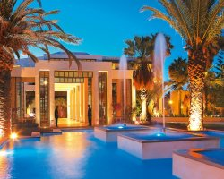 Sublime Perfect Holiday, Crete, Greece, Luxury hotel at night