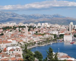 Superb Holiday, Split, Croatia, Panoramic view