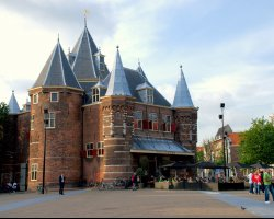 Superb Holiday, Amsterdam, The Netherlands, Waag fron view