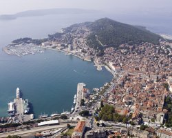 Superb Holiday, Split, Croatia, City aerial view
