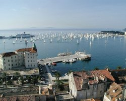 Superb Holiday, Split, Croatia, Marina view with boats