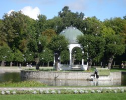 Tallinn, Estonia, Gazebo in Kadriorg park