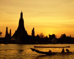 Thailand, Asia, Sunset