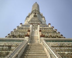 Thailand, Asia, Temple at wat arun