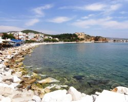 Beaches of Thassos, Tassos, Greece, Limenaria Beach 02