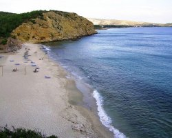 Beaches of Thassos, Tassos, Greece, Metallia Beach