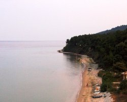 Beaches of Thassos, Tassos, Greece, Kinyra Beach