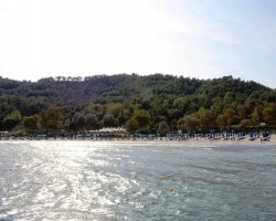 Beaches of Thassos, Tassos, Greece, Makryammos Beach 01