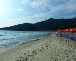 Beaches of Thassos, Tassos, Greece, Golden Beach 01