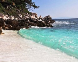 Beaches of Thassos, Tassos, Greece, Marble Beach 04