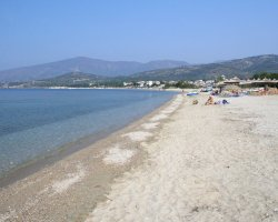 Beaches of Thassos, Tassos, Greece, Potos Beach 02