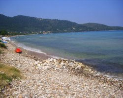Beaches of Thassos, Tassos, Greece, Skala Potamia