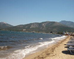 Beaches of Thassos, Tassos, Greece, Skala Prinos