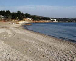 Beaches of Thassos, Tassos, Greece, Pefkari Beach 02