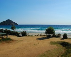 Beaches of Thassos, Tassos, Greece, Paradise Beach 02