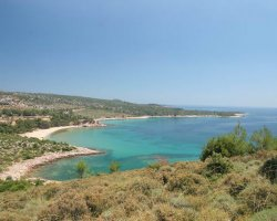 Beaches of Thassos, Tassos, Greece, Psili Ammos Beach 03