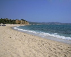 Beaches of Thassos, Tassos, Greece, Trypti Beach 02