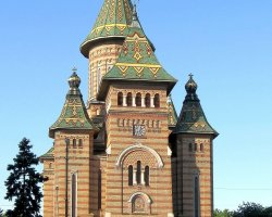 Timisoara, Romania, Orthodox Cathedral 04